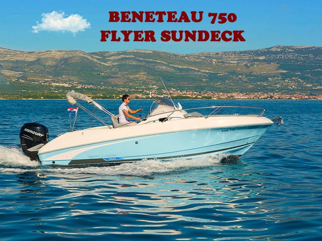 BENETEAU 750 FLYER SUNDECK