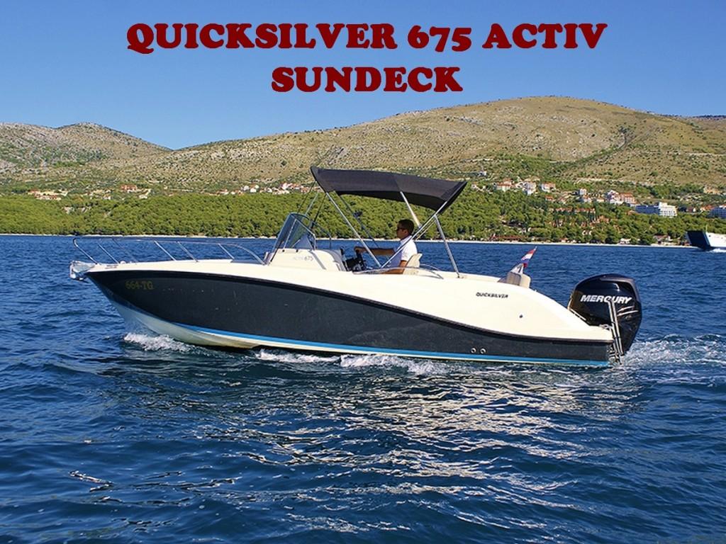 QUICKSILVER 675 ACTIV SUNDECK